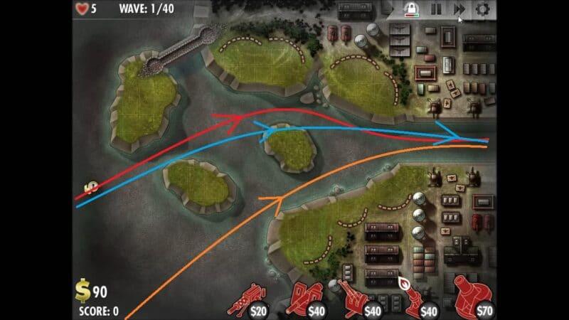 """iBomber Defense"" - Axis Campaign - 07. Eastern Mediterranean: Tigershark (1)"
