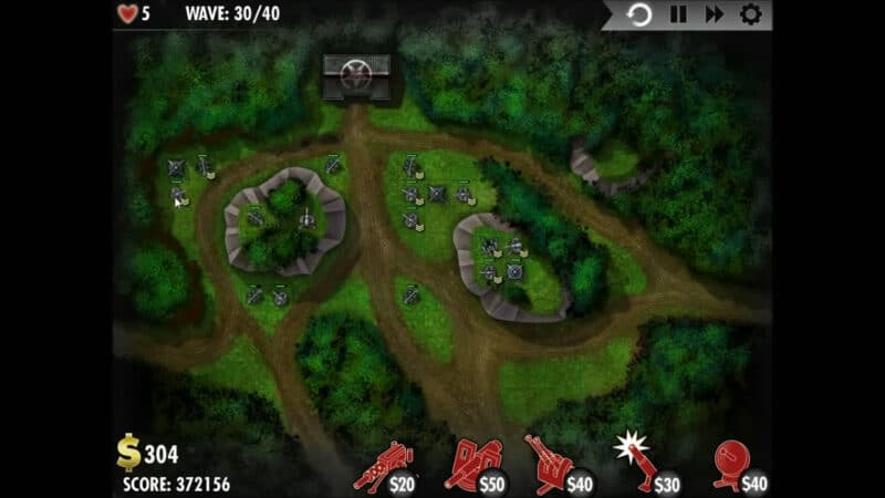 """iBomber Defense"" - Level 11 - North East Europe: Heart of Oak (4)"