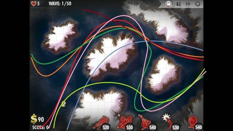 """""""iBomber Defense"""" - Level 12 - Nordeuropa: Feuersturm (1)"""