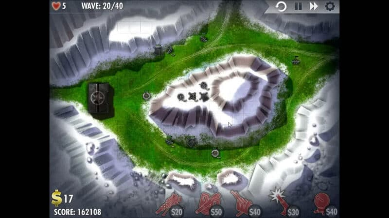 """iBomber Defense"" - Level 9 - South East Europe: Snowblind (3)"